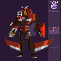 TFA OC - Shogun by Bixo-Dcepticon