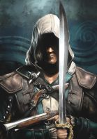 Edward Kenway of the Brotherhood by Splash-Azure