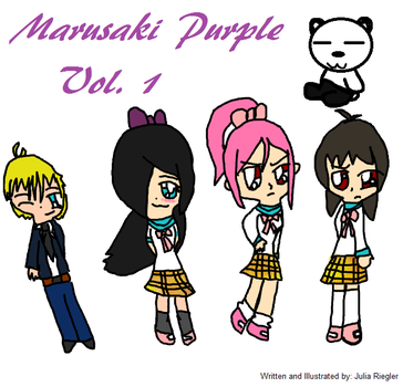 Marusaki Purple Title Page by ribby2000