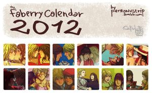 The Faberry Calendar 2012 by patronustrip