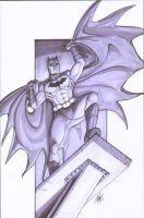 Batman Grays by shinlyle