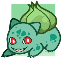Pokemon: Bulbasaur Charm Design by StarryTumble