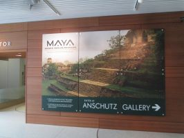 Going to the Maya exhibit at the museum by mylesterlucky7