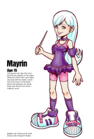 Kingdom Hearts - Mayrin by V-lock
