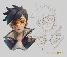 Tracer Overwatch by RodrigoICO