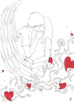 Angel Kisses by CrowDevine