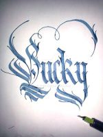 Lucky Calligraphy by Ciillk