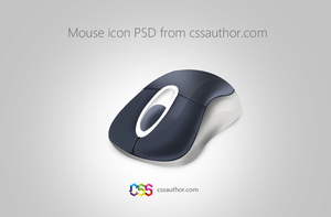 Download Free Mouse Icon PSD from CSS Author by cssauthor