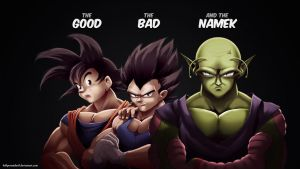 The Good The Bad and The Namek by HellPurestDevil