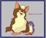 Tattletail - Mama and Baby by Koili