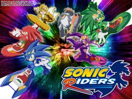 Sonic Riders WP ::800x600:: by Blade-Genexis