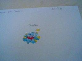 An old Drawing of Cheese the chao by CrystalTheHedgehog18