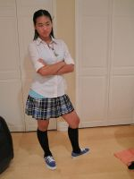 Private School  Girl 07 by imagine-stock