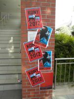 Kony Posters - By The Stairs by lu40953