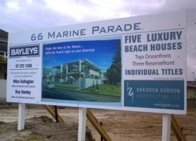 Marine Parade Signage by motionmedia