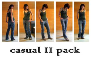casual II pack by syccas-stock