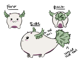 Veggie Whales - Lettuce by Salforia