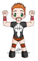 Chibi - WWE - Sheamus by percylove