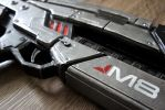 Cosplay Props: Mass Effect M8 Rifle by LittleBlondeGoth