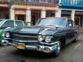 Cadillac in Havana streets by overmoder