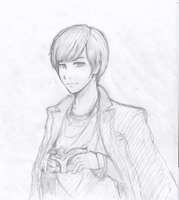 Opera Yesung Sketch by CheekyFlower