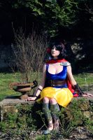 Snow White Warrior Cosplay  - 09 by bulleblue