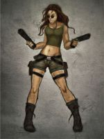 Lara Croft Under by dreamh