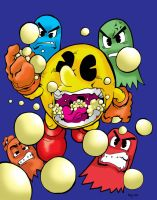 Pac Man by Kenji-Seay