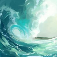 waves by ovolon