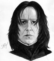 Severus Snape by lovely-little-gun