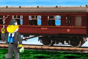 The Train Robbery by ChessYoshi
