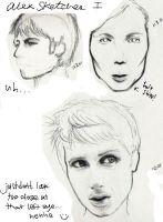 Alex Kapranos is a Royal Pain by aliasverve