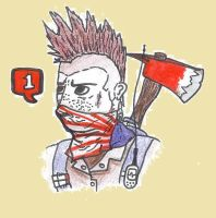 Fallout OC RP character Icon: Buggsy by Falafler