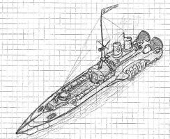 Tempest Torpedo Ram Concept by packie1984