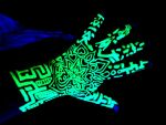 Blacklight Highlighter Henna Tattoo by Kurotsuki-Kietsu