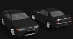 1993 Nissan Skyline GT-R (R32) For XPS by noonenothing