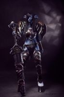 World of Warcraft (Draenei Warrior) 8 by Feyische
