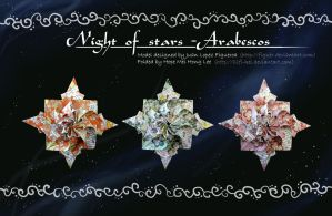 Night of stars - Arabescos by llifi-kei