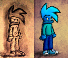 Bass- comparison between pencil and tablet by BlumanX