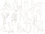 More Pose Practice by MadameNyx