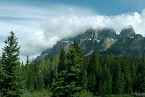 Castle Mountain by kalicobay
