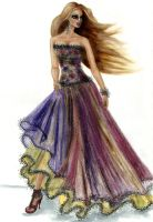 Fashion Illustration 5 by love-anya