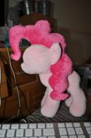 WIP Pinkie pie plush by Blindfaith-boo