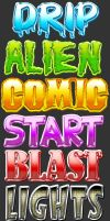 Comic Style Text Effects by xstortionist