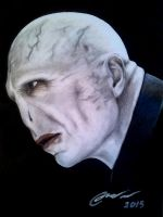 Lord Voldemort drawing by TheArtFeel
