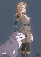 Sniper Wolf by DocSinistar
