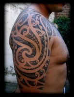 Freehand maori by WildThingsTattoo