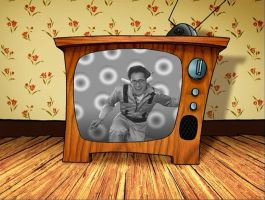 Funny guy on tv by Ryan91Studio
