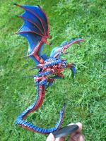 Custom Tyranid Harpy Full Length by drag0nfeathers
