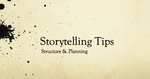 Storytelling Tips - Session 2 by RobinRone